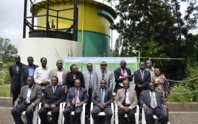 Tanzania Minister officially opens wastewater treatment and biogas plant in Arusha